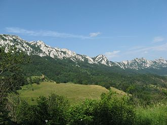 Serbia - Veliki Krš, part of Serbian Carpathians