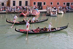The 2008 edition of the Regata Storica di Vene...