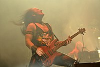 "Venom, Conrad ""Cronos"" Lant at Party.San Metal Open Air 2013 08.jpg"