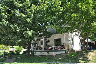 Capts. Louis and Philomene Daniels House United States historic place