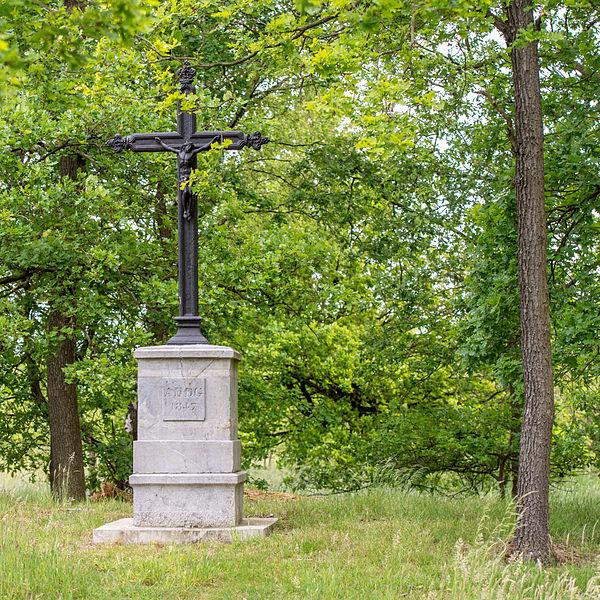 Standbeeld van de Verkeerde Lieve Heer in Neerpelt