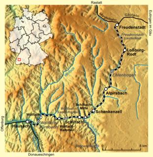 Kinzig Valley Railway (Black Forest) railway line
