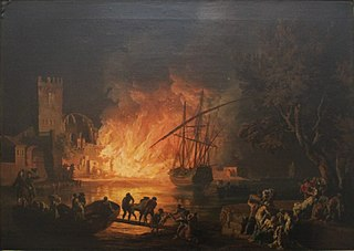Fire on the Tiber