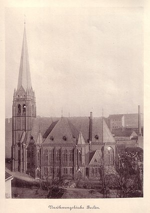 Chapel of Reconciliation - The Church of Reconciliation, pictured in 1899