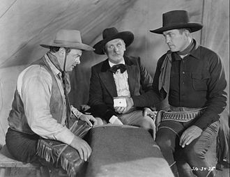 Eddie Gribbon - Gribbon on the left with Victor McLaglen-right and Lew Cody-center in Not Exactly Gentlemen, 1931.