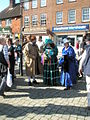 Victorian time travellers in The Square - geograph.org.uk - 1251820.jpg
