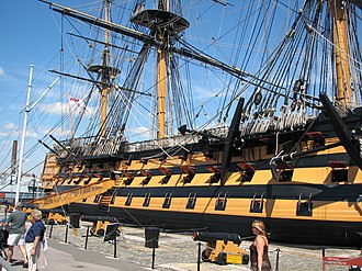 Persuasion (1995 film) - The film's final scene was shot on HMS ''Victory''