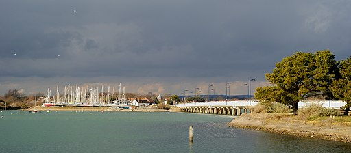 View Across Langstone Harbour, Hampshire - geograph.org.uk - 1720079