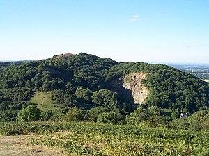 Midsummer Hill - Midsummer Hill from Ragged Stone Hill