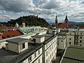 View from Hotel Union Room 724 in Ljubljana (9485918614).jpg