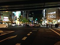 View near Osaka-Namba Station.JPG
