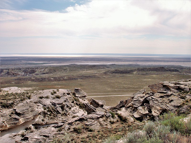 File:View of Karagiye Depression.JPG