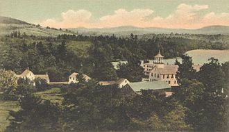 Sutton, New Hampshire - View of North Sutton c. 1905