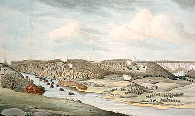 View of the Attack Against Fort Washington crop.jpg