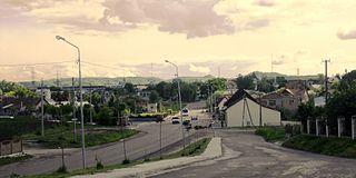 Malekhiv village in Lviv Oblast, Ukraine