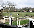 View towards Marsworth Church from Marsworth Lock (No 3) - geograph.org.uk - 1228870.jpg
