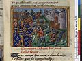 Vigiles de Charles VII, fol. 205, Siège de Cherbourg (1450).jpg