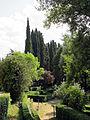 Villa schifanoia, giardino, seconda terrazza inferiore 04.JPG