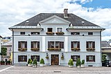 Villach Innenstadt Kirchenplatz 8 Pfarrhof St. Jakob O-Ansicht 26082018 3703.jpg