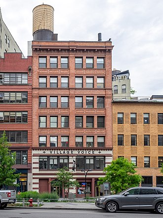 The Cooper Square offices of the paper Village Voice (48072654421).jpg
