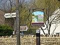 Village sign, Woodnewton - geograph.org.uk - 1214709.jpg