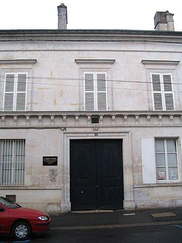 La façade du Musée Alexandre Dumas.