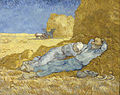 Vincent van Gogh - The siesta (after Millet) - Google Art Project.jpg
