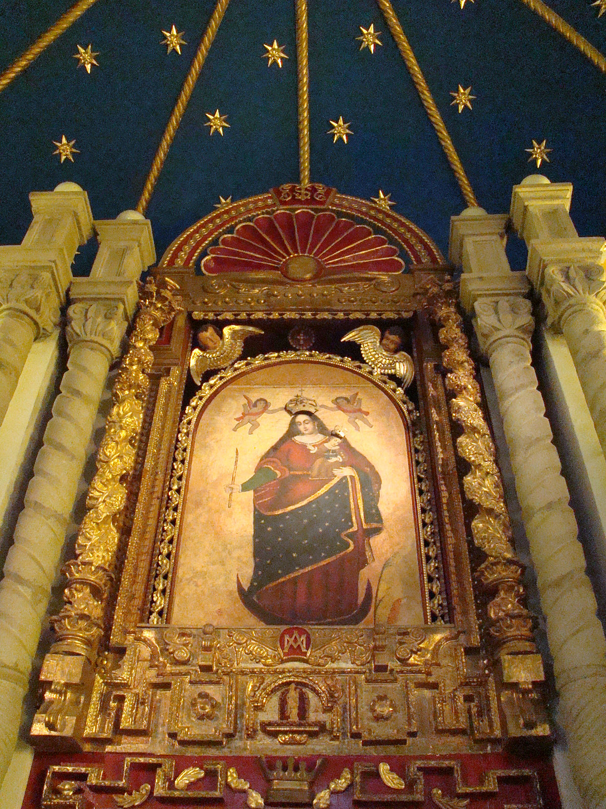 Virgen del Socavn  Wikipedia la enciclopedia libre