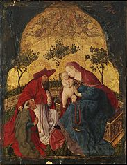 Virgin and Child with a Donor Presented by Saint Jerome