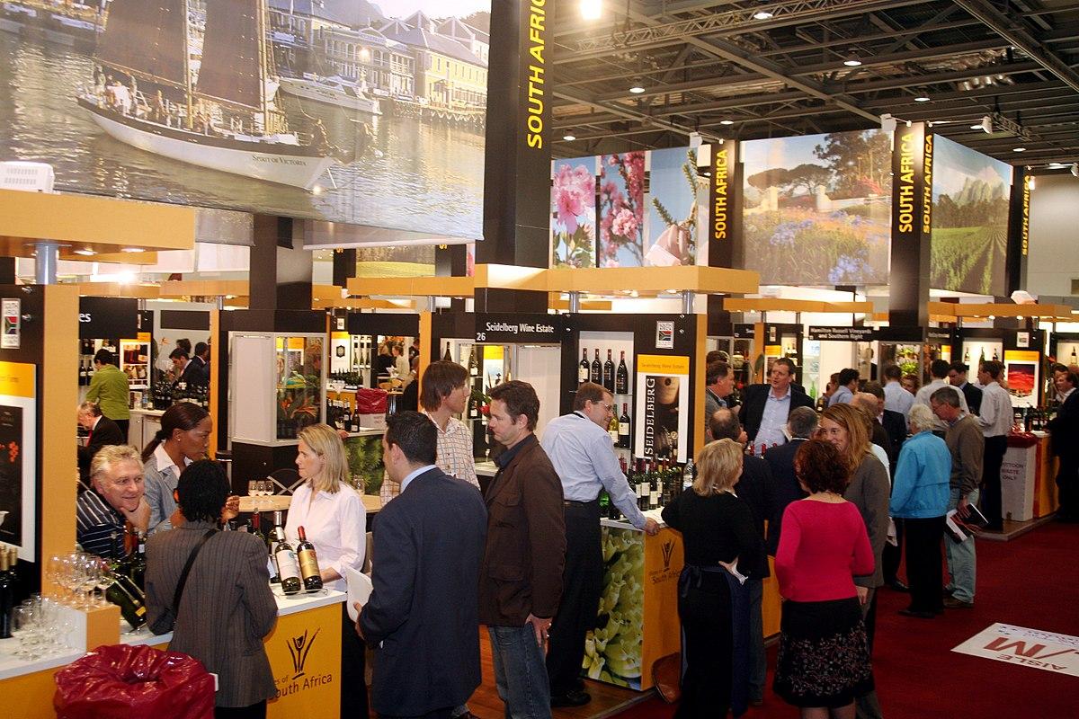 D Exhibition In London : London wine fair — wikipédia