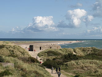 Kattegat - Grenen in Denmark is important for bird migrations and is a protected area.