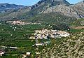 Vista de Sagra i el Ràfol d'Almúnia des de Segària.JPG
