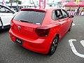 Volkswagen Polo TSI Highline (AWCHZ) rear.jpg