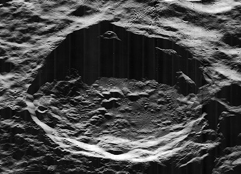 The von Neumann crater, on the far side of the Moon. Von Neumann crater 5103 h2 h3.jpg