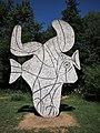 Vondelpark, Picasso kunstobject foto 2.JPG