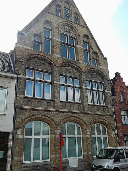 Voormalige zetel van de christelijke arbeidersbeweging in Roeselare Kattenstraat 71 Roeselare