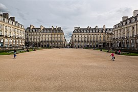 Square of the Parlement of Brittany