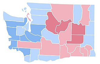 United States presidential election in Washington (state), 1996 - Image: WA1996