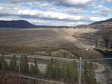 WAC Bennett Dam From Viewpoint.jpg