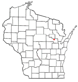 Location of Wescott, Wisconsin