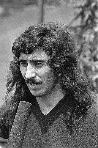 Rubén Ayala - Ayala in 1974.