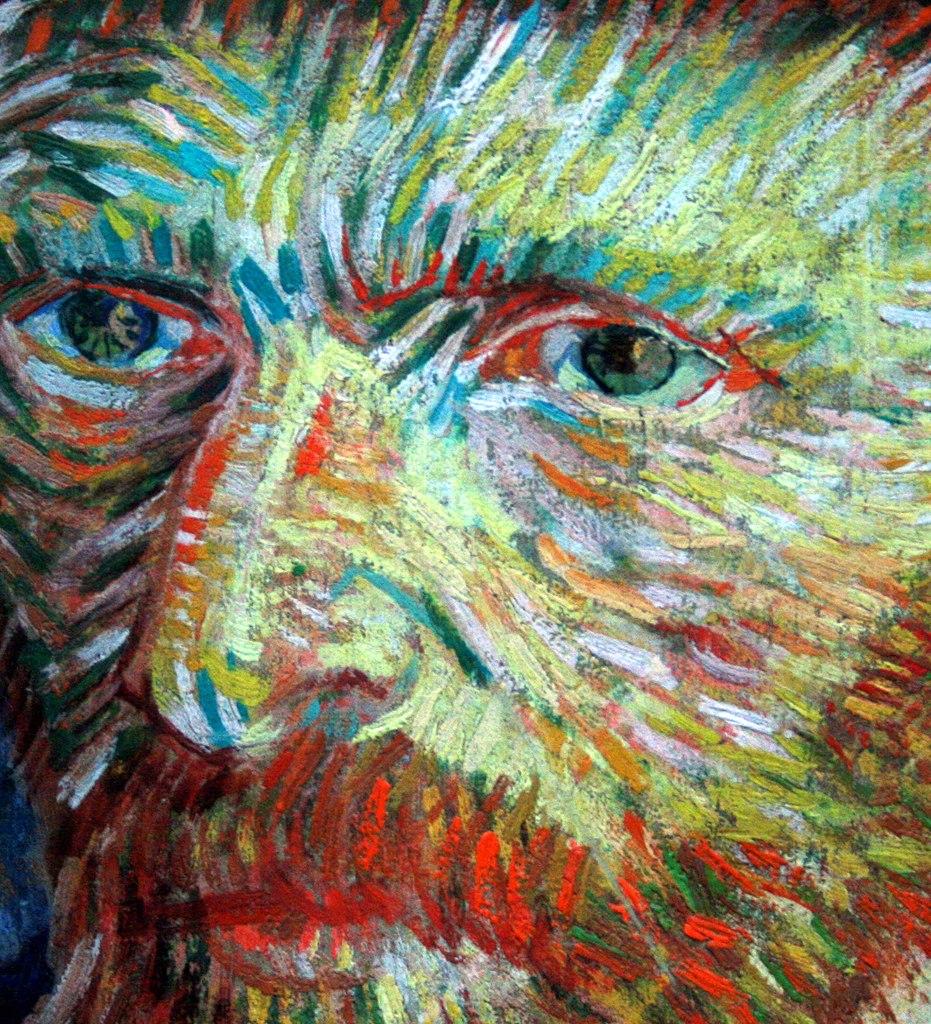 Vincent Van Gogh Blue Paintings