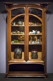 A Jacques Gruber Armoir Cabinet