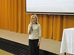 File:WM CEE Meeting 2013 - greeting from International Vysegrad Fund by Mrs. Nosalova Fekiacova 1.jpg