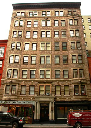 8th Street / St. Mark's Place (Manhattan) - Marlton House in 2008