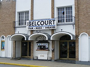 Belcourt Theatre - Image: WTN E Vula 136