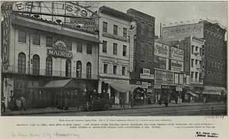 Lunt-Fontanne Theatre - Image: W side of Broadway, 46th 47th St