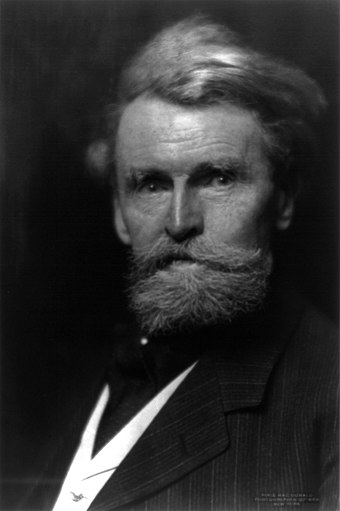 William A. Clark, c. 1899. In 1888, he bought the United Verde properties, which remained with the Clark family until 1935. Waclark.jpg
