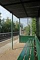 Waiting shelter, Hawarden Bridge railway station (geograph 4032522).jpg