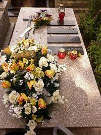 Waldemar Baszanowski grób.JPG